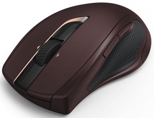 Мышь беспроводная HAMA MW-900 бордовый USB 00182673