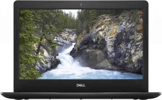 Ноутбук Dell Vostro 3481 Pentium 4415U/4Gb/SSD128Gb/Intel HD Graphics 610/14/HD (1366x768)/Linux Ubuntu/black/WiFi/BT ноутбук acer extensa ex2519 p9dq pentium n3710 4gb 500gb dvd rw intel hd graphics 405 15 6 hd 1366x768 linux black wifi bt cam 3500mah