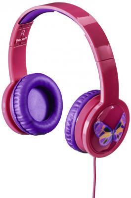 цена на Наушники HAMA Blink`n Kids розовый 00135664