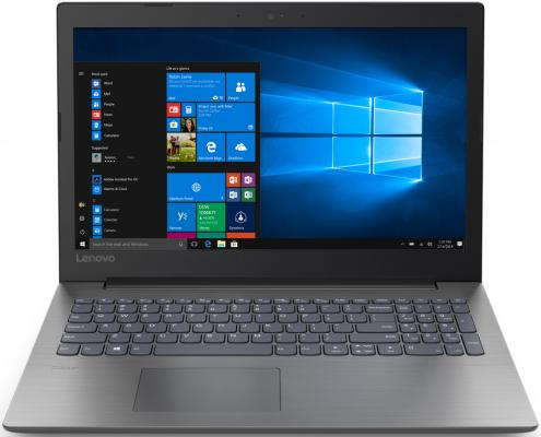 Ноутбук Lenovo IdeaPad 330-15IGM Pentium Silver N5000/4Gb/SSD128Gb/Intel UHD Graphics 605/15.6/TN/HD (1366x768)/Windows 10/black/WiFi/BT/Cam ноутбук lenovo v130 15igm 81hl003cru 15 6 hd intel pentium n5000 4gb ssd128gb dvd rw dos grey
