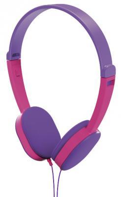 цена на Наушники HAMA Kids фиолетовый розовый 00177014