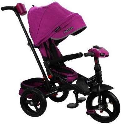 """Велосипед Moby Kids """"Leader 360°. AIR Car"""" 12*/10* ягодно-пурпурный"""