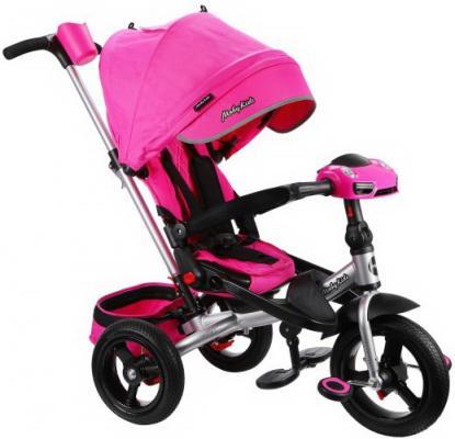 Велосипед Moby Kids Leader 360°. AIR Car 12*/10* розовый