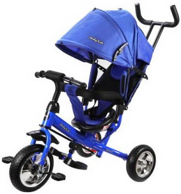 """Велосипед Moby Kids Start 10"""",/8"""", синий"""