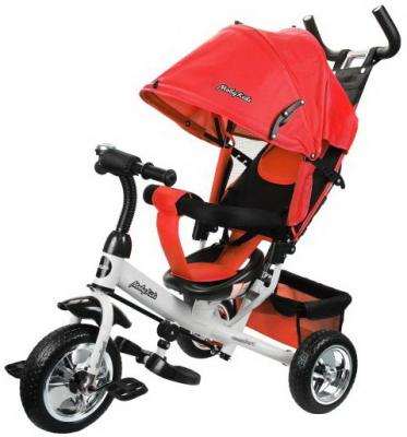 Велосипед Moby Kids Comfort 10/8 красный