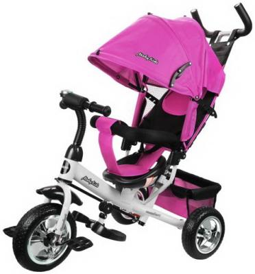 """Велосипед Moby Kids Comfort 10"""",/8"""", розовый"""