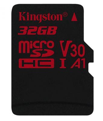 Флеш карта microSDHC 32Gb Class10 Kingston SDCR/32GBSP Canvas React w/o adapter