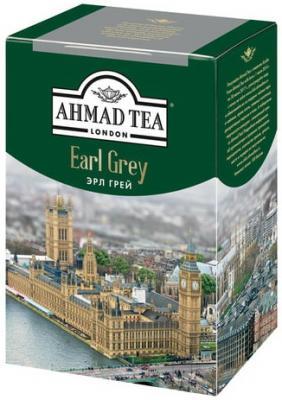 Фото - Чай AHMAD (Ахмад) Earl Grey, черный листовой, с бергамотом, картонная коробка, 200 г, 1290-012 greenfield earl grey fantasy черный листовой чай 200 г
