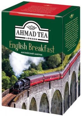Чай AHMAD (Ахмад) English Breakfast, черный листовой, картонная коробка, 200 г, 1292-012
