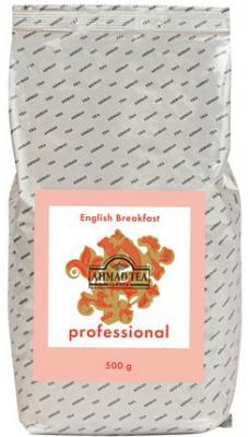 Чай AHMAD (Ахмад) English Breakfast Professional, черный, листовой, пакет, 500 г, 1591 майский чайная матрешка синяя черный листовой чай 30 г