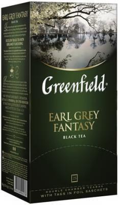 Фото - Чай GREENFIELD Earl Grey, черный с бергамотом, 25 пакетиков в конвертах по 2 г greenfield earl grey fantasy черный листовой чай 200 г
