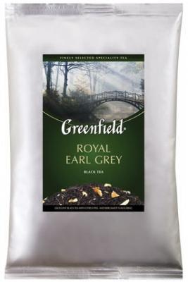 Фото - Чай GREENFIELD (Гринфилд) Royal Earl Grey, черный с бергамотом, листовой, 250 г, пакет, 0975-15 greenfield earl grey fantasy черный листовой чай 200 г