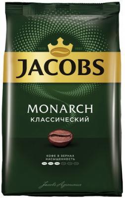 Кофе в зернах JACOBS MONARCH (Якобс Монарх), натуральный, 800 г, вакуумная упаковка, 65707