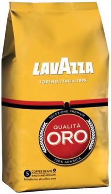 """Кофе в зернах LAVAZZA (Лавацца) """"Qualita Oro"""", натуральный, 250 г, вакуумная упаковка, 2051"""