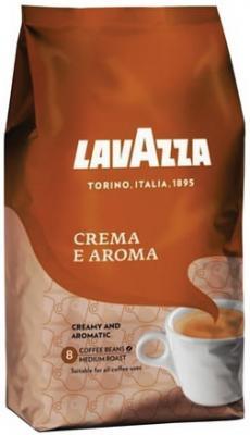 """цена Кофе в зернах LAVAZZA (Лавацца) """"Crema e Aroma"""", натуральный, 1000 г, вакуумная упаковка, 2444 онлайн в 2017 году"""