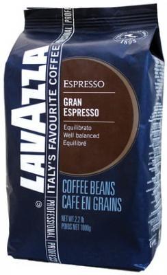 """цена Кофе в зернах LAVAZZA (Лавацца) """"Gran Espresso"""", натуральный, 1000 г, вакуумная упаковка, 2134 онлайн в 2017 году"""