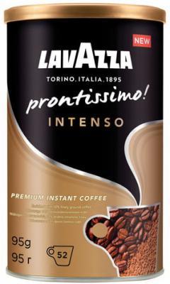 Кофе молотый в растворимом LAVAZZA (Лавацца) Prontissimo Classico, сублимированный, 95 г, жестяная банка, 5330 lavazza prontissimo classico кофе растворимый 95 г