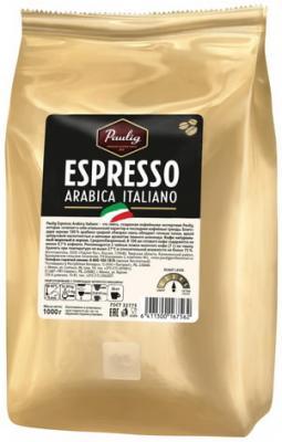 """цена Кофе в зернах PAULIG (Паулиг) """"Espresso Arabica Italiano"""", натуральный, 1000 г, вакуумная упаковка, 16756 онлайн в 2017 году"""