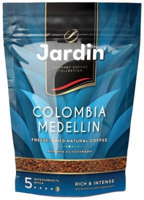 """Кофе растворимый JARDIN """"Colombia medellin"""", сублимированный, 150 г, мягкая упаковка цена 2017"""