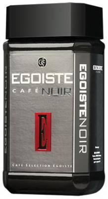 """Кофе растворимый EGOISTE """"Noir"""", сублимированный, 100 г, 100% арабика, стеклянная банка, 4492 компот похудин банка 400 г"""