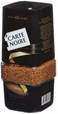 Кофе растворимый CARTE NOIRE сублимированный, 95 г, стеклянная банка, 22332 кофе растворимый carte noire 150грамм [4251952]