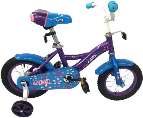 """Велосипед Navigator Lady 12"""" фиолетово-голубой ВН12163 цены"""