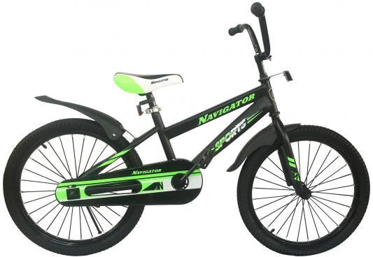 """Велосипед Navigator Sports 20"""", черный ВН20210"""