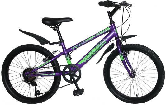 цена на Велосипед Top Gear Fighter 20 фиолетовый ВН20201