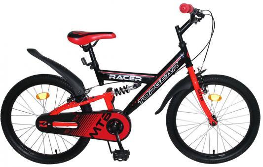 цена на Велосипед Top Gear Racer 20 черно-красный ВН20200