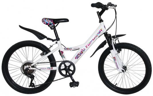 цена на Велосипед Top Gear Mystic 20 белый ВН20202