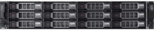Дисковый массив Dell MD3800f x12 4x4Tb 7.2K 3.5 NL SAS 2x600W PNBD 3Y 2xCtrl 16G FC/4xSFP 16GB/4G Cache (210-ACCS-23)