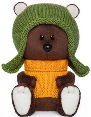 Мягкая игрушка BUDI BASA LE15-071 Медведь Федот в шапочке и свитере цена