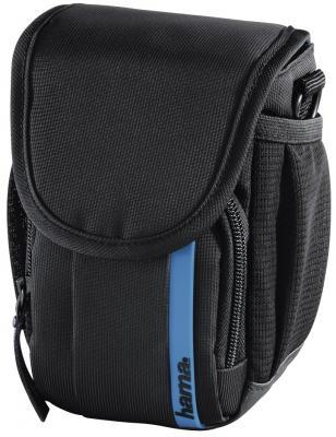 купить Сумка для фото/видеокамеры Hama Nashville 90 черный/синий по цене 610 рублей