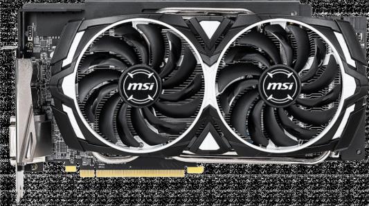 Видеокарта MSI Radeon RX 590 ARMOR OC PCI-E 8192Mb GDDR5 256 Bit Retail (RX 590 ARMOR 8G OC) видеокарта msi radeon rx 550 radeon rx 550 4gt lp oc pci e 4096mb gddr5 128 bit retail rx 550 4gt lp oc