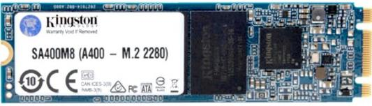 Твердотельный накопитель SSD M.2 120 Gb Kingston SA400M8/120G Read 500Mb/s Write 320Mb/s 3D NAND TLC