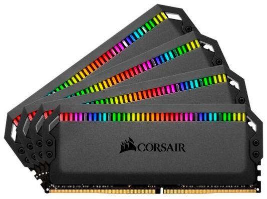 Память DDR4 4x8Gb 3000MHz Corsair CMT32GX4M4C3000C15 RTL PC4-24000 CL15 DIMM 288-pin 1.35В