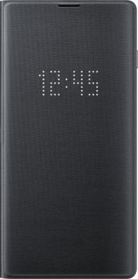 Чехол (флип-кейс) Samsung для Samsung Galaxy S10 LED View Cover черный (EF-NG973PBEGRU) чехол флип кейс samsung для samsung galaxy s9 led view cover синий ef ng965plegru