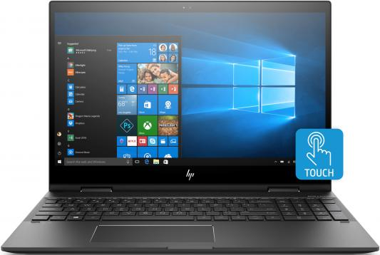 Ноутбук HP Envy x360 15-cn0009ur (4GZ51EA) i5-8250U (1.6) / 16GB / 1TB + 256GB SSD / 15.6 FHD IPS Touch / NV GF MX150 4GB / noODD / Win10 (Dark Ash Silver) ноутбук hp pavilion 15 cs0023ur 4ju98ea core i5 8250u 4gb 1tb 16gb optane nv mx150 2gb 15 6 fullhd win10 rose gold