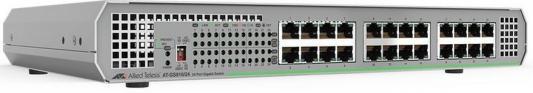 Коммутатор Allied Telesis AT-FS710/24-50 24x100Mb неуправляемый коммутатор allied telesis at fs710 24 50 24x100mb неуправляемый
