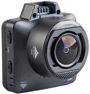 Видеорегистратор Silverstone F1 HYBRID mini pro черный 5Mpix 1296x2304 1296p 170гр. GPS внутренняя память:1Gb Ambarella A12 видеорегистратор harper pro view 7751 gps