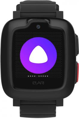 Смарт-часы Elari KidPhone-3G 15мм 1.3 TFT черный elari kidphone 2 green