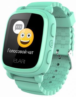 """Картинка для Смарт-часы Elari KidPhone 2 15мм 1.4"""" TFT зеленый"""