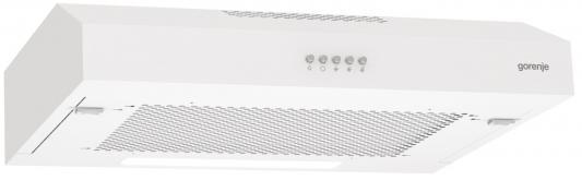 лучшая цена Вытяжка встраиваемая Gorenje WHU529EW/S белый управление: кнопочное (1 мотор)