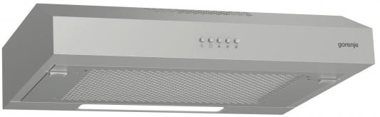 лучшая цена Вытяжка встраиваемая Gorenje WHU529EX/S нержавеющая сталь управление: кнопочное (1 мотор)