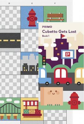 Настольная игра PRIMO TOYS Карта для путешествий Карта для путешествий Город игрушки для путешествий
