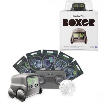 Интерактивный робот Boxer Boxer со звуком светящийся двигающийся танцующий boxer 75100 bs интерактивный робот синий