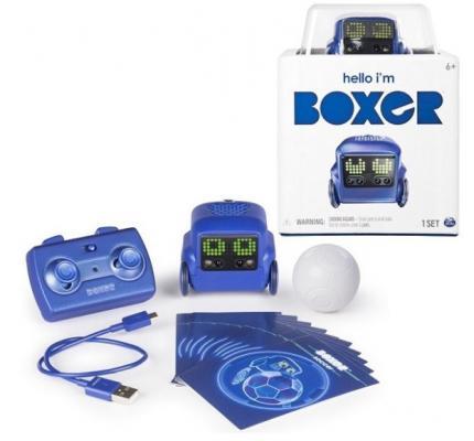 Интерактивный робот Boxer Boxer светящийся со звуком двигающийся танцующий boxer 75100 bs интерактивный робот синий