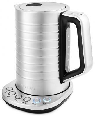 Чайник электрический KITFORT КТ-649 2200 Вт серебристый 1.7 л чугун недорого