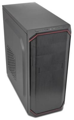 Фото - Корпус 3Cott 7004, ATX, 450Вт, черный , 2х USB2.0, 405*196*420мм, 24+4-Pin, 4-Pin, 2*SATA, 4*MOLEX корпус 3cott g08 черный