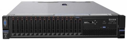 Сервер Lenovo x3650M5 1xE5-2640v4(up2), 1x16GB(up24xDDR4), no HDD (up 8/16x2.5), SAS3 M5210/2GB Flash, noODD, 4x1GbE, IMM, 1x750W(up2), Rack Rails, 1y сервер lenovo x3650 m5 5462g2g